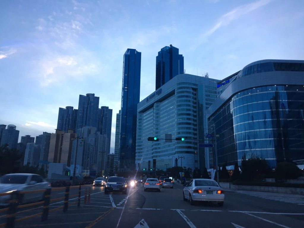 Корея очень безопасная страна для жизни